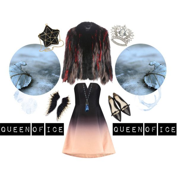 Queen of Ice by inogitnadesigns on Polyvore featuring Halston Heritage, Dolce&Gabbana, 3.1 Phillip Lim and Aspinal of London