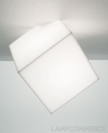 Artemide- Edge wall/ceiling lamp: this unique cube shaped lamp can serve multiple purposes as either a wall or ceiling lamp. Perfect for a modern office or living room.