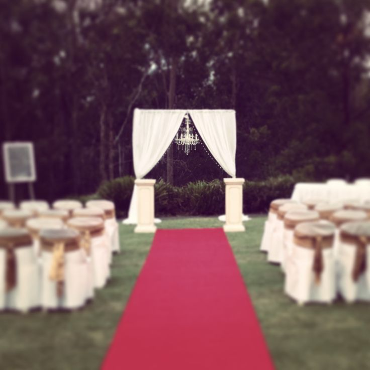Love our beautiful chandelier wedding arbour! Available for hire in Brisbane and the Gold Coast!