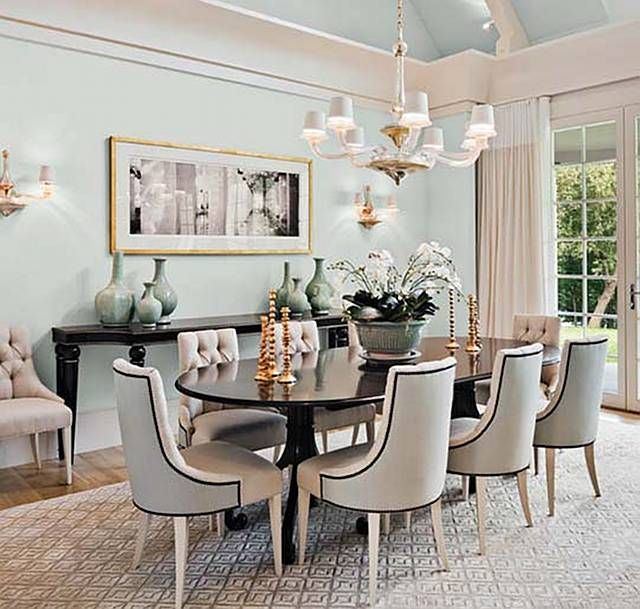 Cly Dinning Room Set Up For A Lovely Afternoon Brunch Dream Home Pinterest Dining And