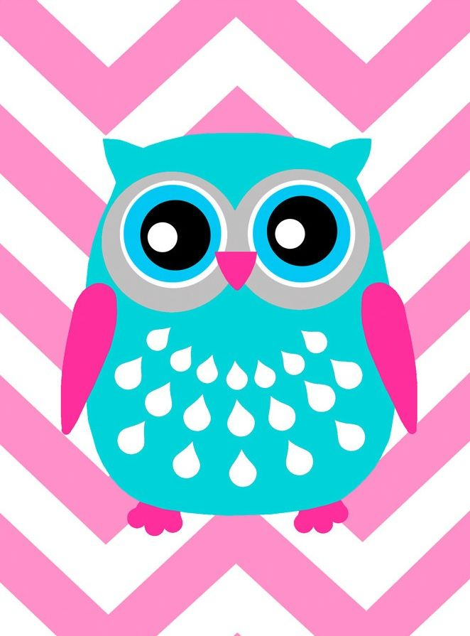 'Chevron Owl' by Tessyla Prints
