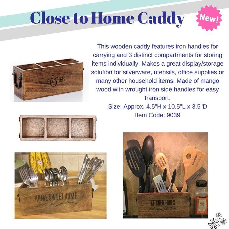 #31 Thirty-One New Spring Product Spotlight #CloseToHomeCaddy #homedecor #mangowood #decoration #style #organization