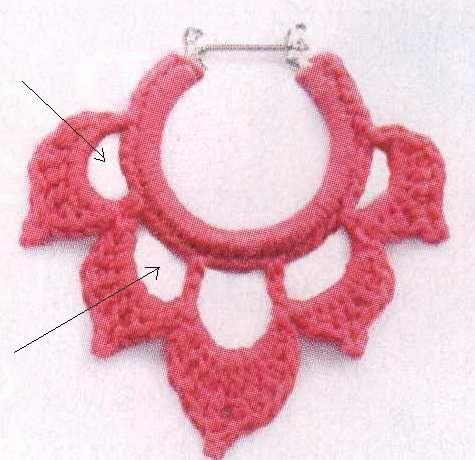 crichet earrings pattern