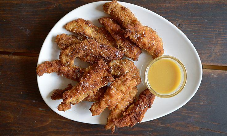 HB EATS: SUPER BOWL SNACKS — Hannah Bronfman | fried chicken tenders