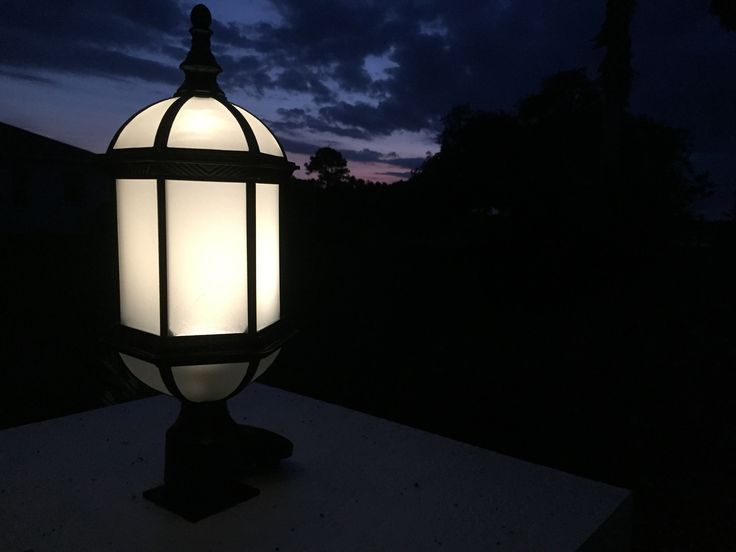 Solar Post Light Conversion: we solarize everything here!