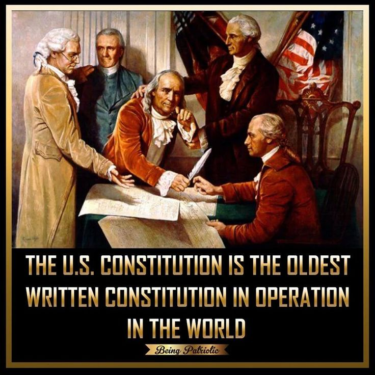 How did the revolution help in the writing of the constitution?