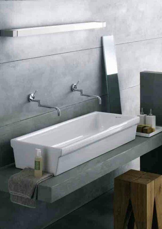Lavabo a canale elleboro di pozzi ginori bagno - Richard ginori sanitari bagno ...