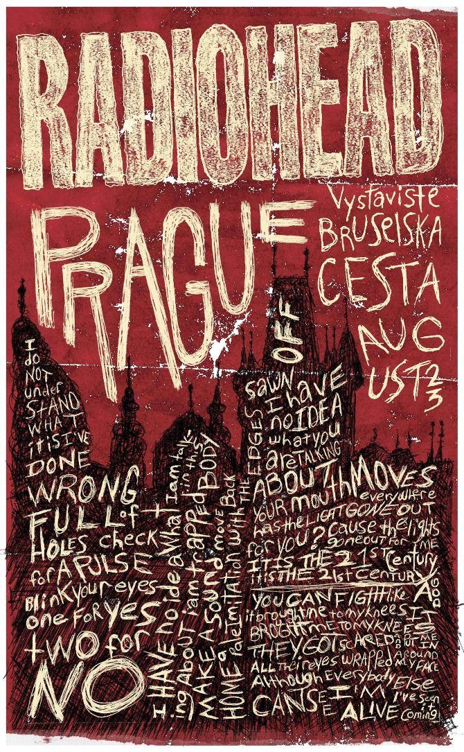 Gig Poster // Radiohead
