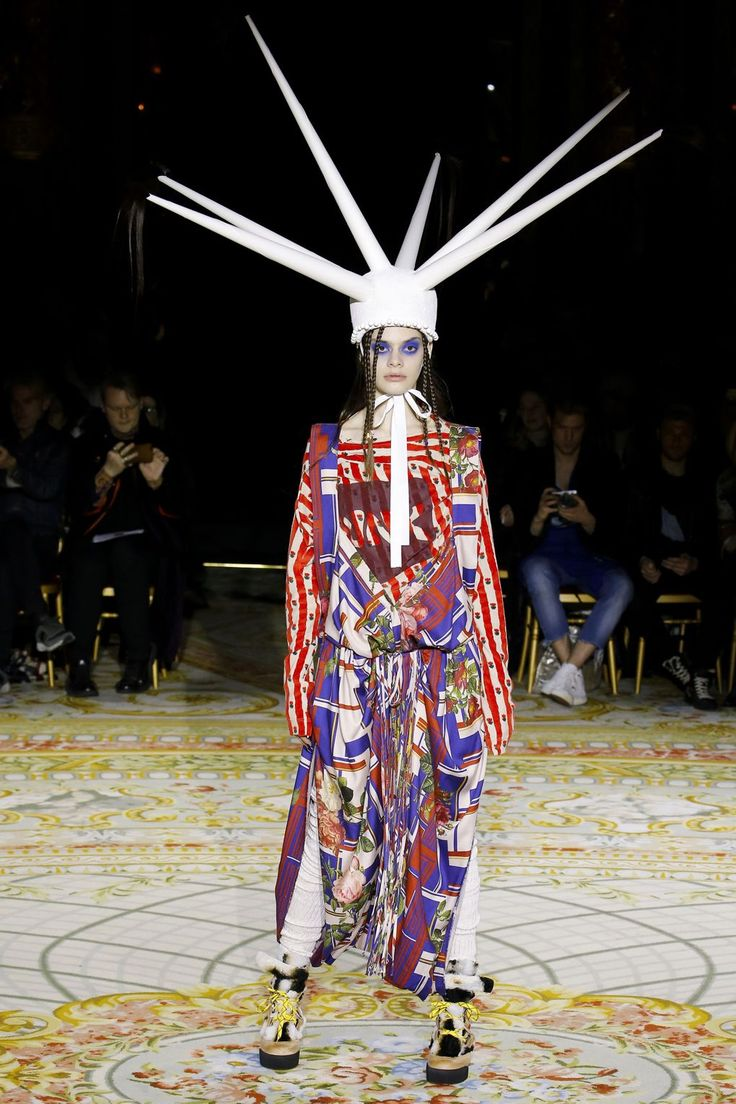 Couture Hat 1 by PRUDENCE MILLINERY Andreas Kronthaler for Vivienne Westwood AW2017/18