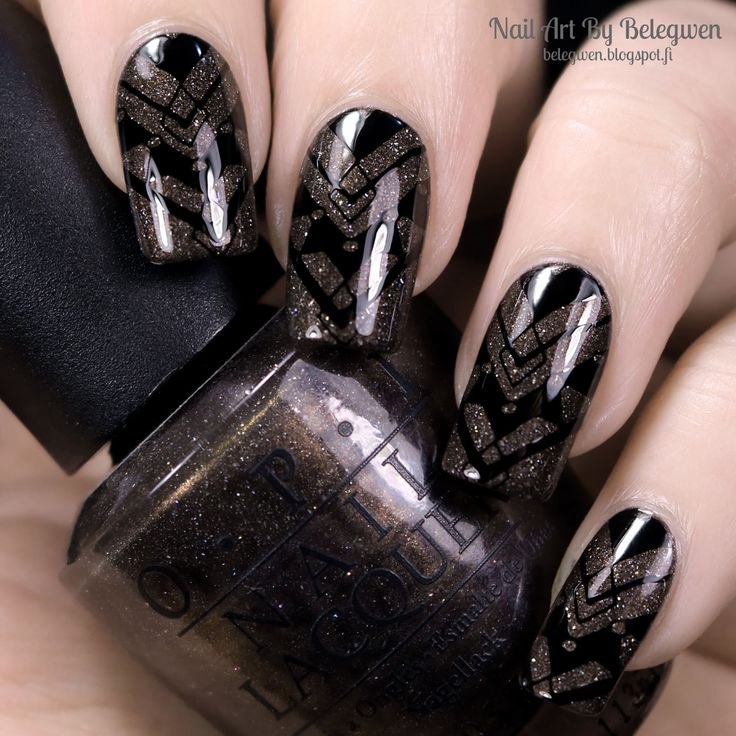 Nail Art By Belegwen: OPI My Private Jet
