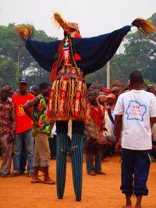 Ivory Coast Stilt Dancing Ceremony | The Ultimate Resource for Overlanding – Part 2: What is overlanding like? | Black Frog Publishing