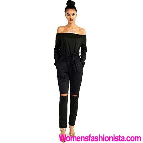 New 2017 Autumn Sexy Women Rompers Solid Slash Neck Purple Black Jumpsuit  Long Sleeve Bodysuit Fashion Plus Size Jumpsuits