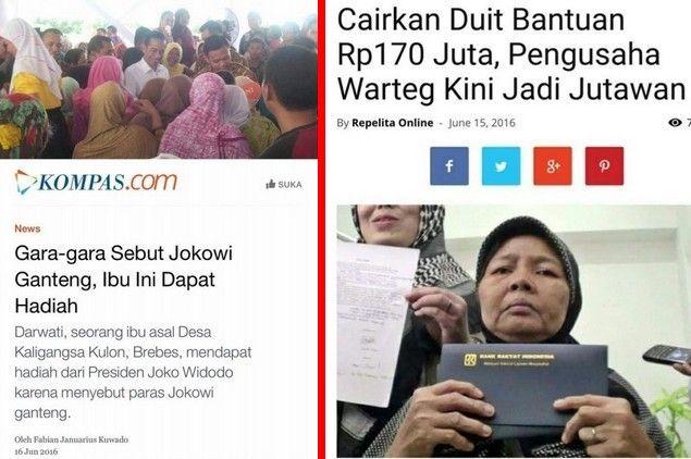 """Pengin Kaya Mendadak? Buka Warung Saat Puasa dan Sebut Jokowi Ganteng  [portalpiyungan.com] Seorang netizen Ushaifirah Qaani menyebutkan diantara kiat dan tips kaya mendadak yang lagi rame.""""Pingin kaya mendadak..??bukalah warung disiang hari saat #RamadhanMau dapat hadiah..??Sebut dan puji Presiden-mu yang sekarang ini sebagai pria """"Ganteng"""".. """" Demikian tulis Ushaifirah Qaani di laman facebooknya. Apa yang disampaikannya bukan rekaan tapi berdasar kejadian nyata.(1) Di kota Serang ada…"""