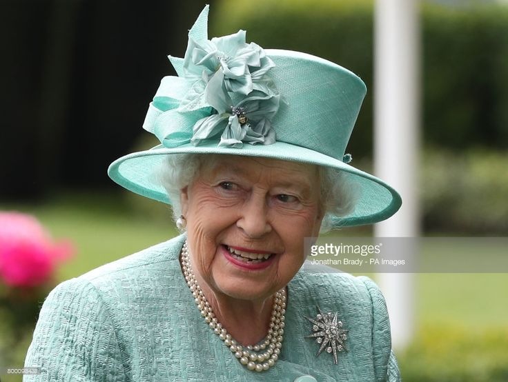 Queen Elizabeth II in the parade ring during day four of Royal Ascot at Ascot Racecourse. (Photo by Jonathan Brady/PA Images via Getty Images)