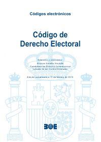 Código de derecho electoral / selección y ordenación, Enrique Arnaldo Alcubilla Madrid : Boletín Oficial del Estado, 2015, 748 p http://www.boe.es/legislacion/codigos/codigo.php?id=101_Codigo_de__Derecho_Electoral&modo=1 .