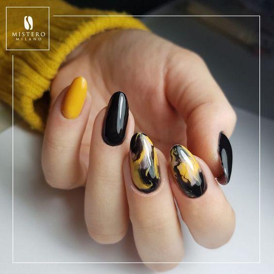 65 + Die meisten Eyecatching Beautiful Nail Art Ideas 2019 – Gel Nägel