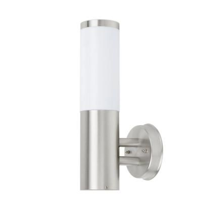 Wall Mount Outdoor Stainless Steel Light Fixture 41022 At The Home Depot