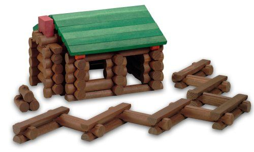 Lincoln Logs is the name of a children's toy consisting of notched miniature logs, used to build miniature forts and buildings. Invented in 1916 by John Lloyd Wright.