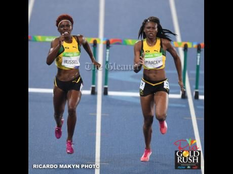 #RioGoldRush: Jamaican trio miss out on medals in women's 400m hurdles | News | Jamaica Gleaner