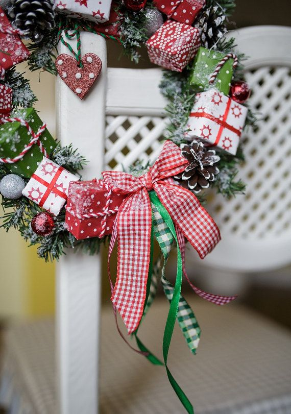 Colorful Bright wreath/ holiday wreath/ wreath от NoelMagique