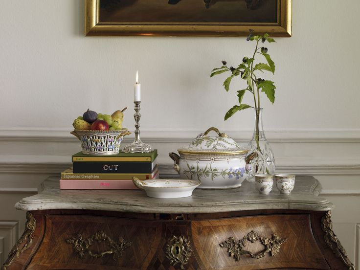 Classical and exclusieve design for many years. Flora Danica.