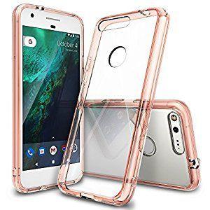 Google Pixel Phone case in pink/rose gold