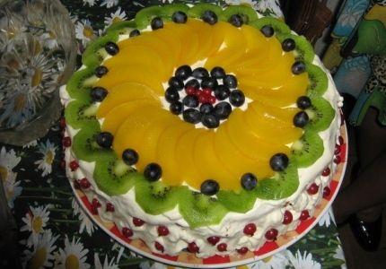 Przepisy na ciasta i desery - Mojeciasto.pl » Owocowy Raj