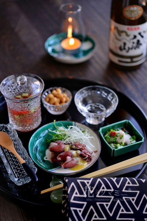 鯛の白子ポン酢」 - 花ヲツマミニ HotaruIka02_2015042412555552a.jpg