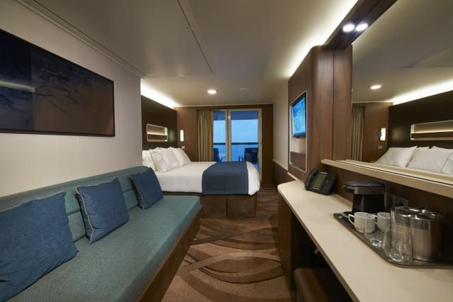 Photo tour and information on some of the different types of cabins on the Norwegian Escape cruise ship of Norwegian Cruise Line