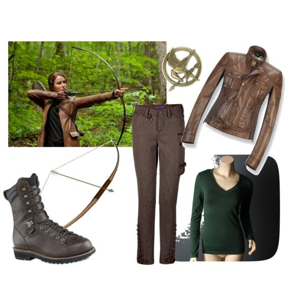 """""""Katniss' Classic Hunting Outfit"""" by queenguinevere97 on Polyvore"""