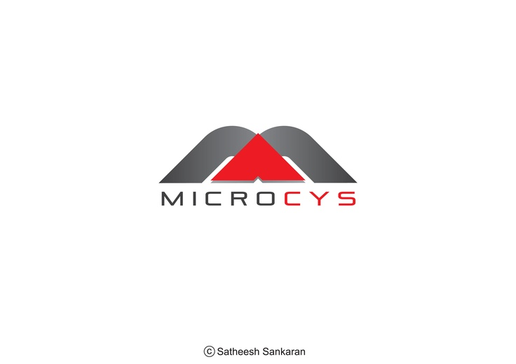 ::: Logo Design ::: MICROCYS www.facebook.com/yourcreativepartner
