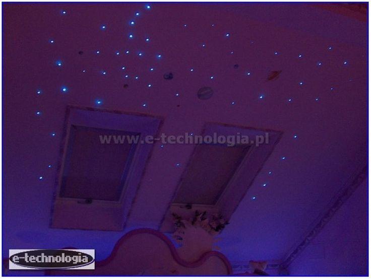 Projekt sypialni na poddaszu E-TECHNOLOGIA