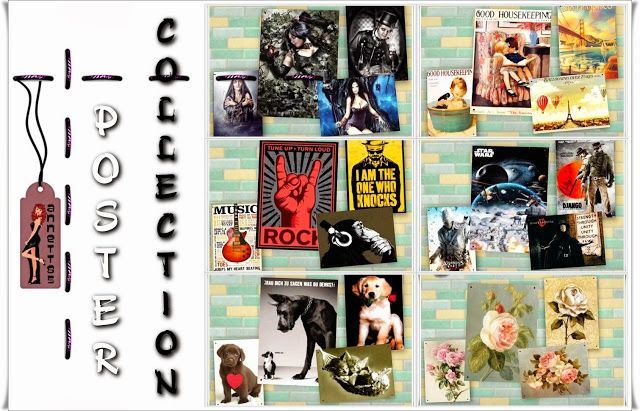 Poster Collection by Annett85 - Sims 3 Downloads CC Caboodle
