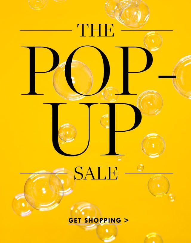 J Crew - Pop Up Sale