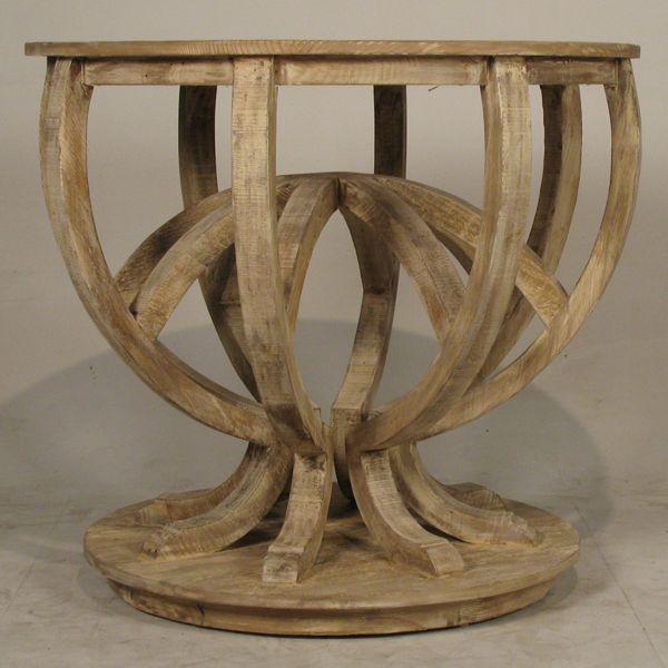 My Sparrow-stylish responsibility: Luna Reclaimed wood pedestal table