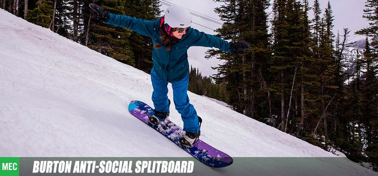 Check out how the Burton splitboard held up during our expedition to Canmore Kananaskis!