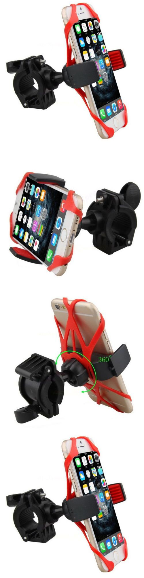 Kickstands 177837: Motorcycle Bicycle Mtb Bike Handlebar Mount Holder Universal For Cell Phone Gps -> BUY IT NOW ONLY: $32.45 on eBay!