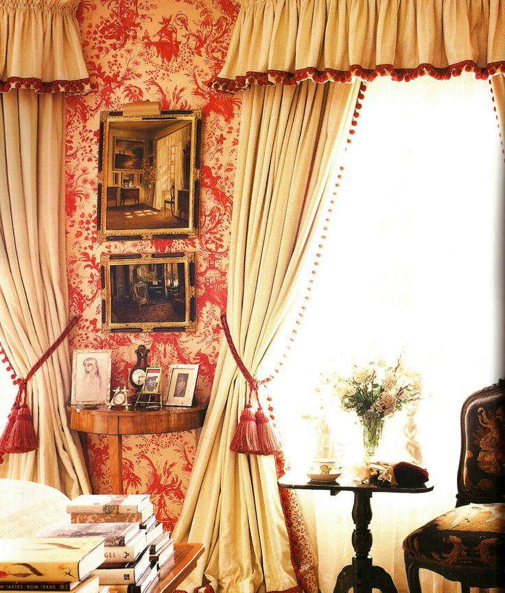 Mes rideaux préférés - Nina Campbell interior