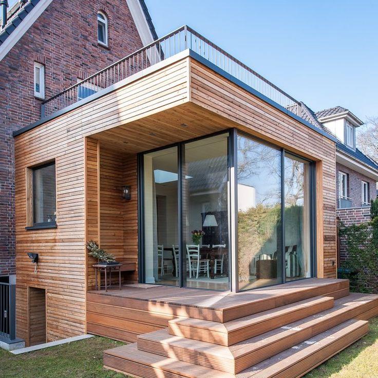 Holzanbau an ein 20er-Jahre Rotklinkerhaus – HH Al…