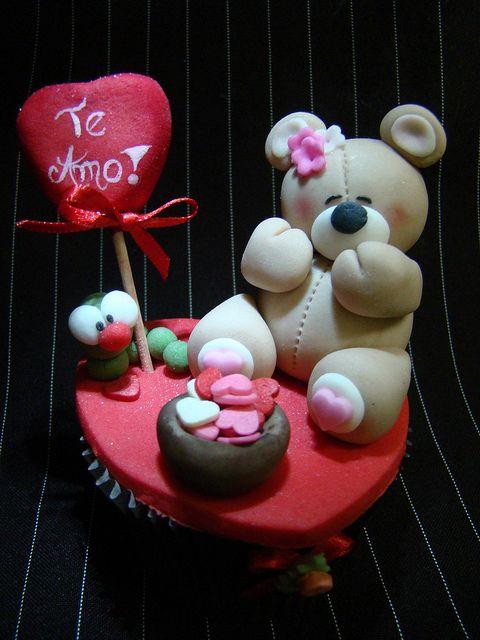 Cupcake Ursinho | Flickr - Photo Sharing!
