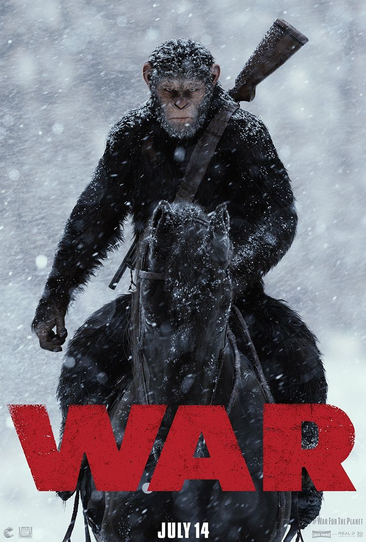 Return to the main poster page for War for the Planet of the Apes (#1 of 2)