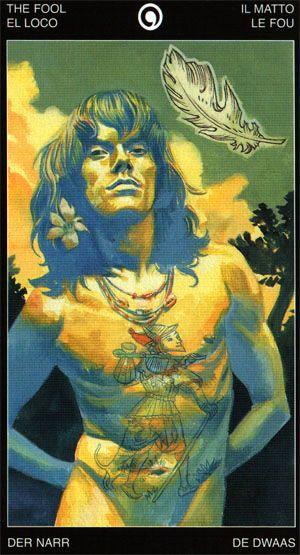The Fool - Tattooed Tarot