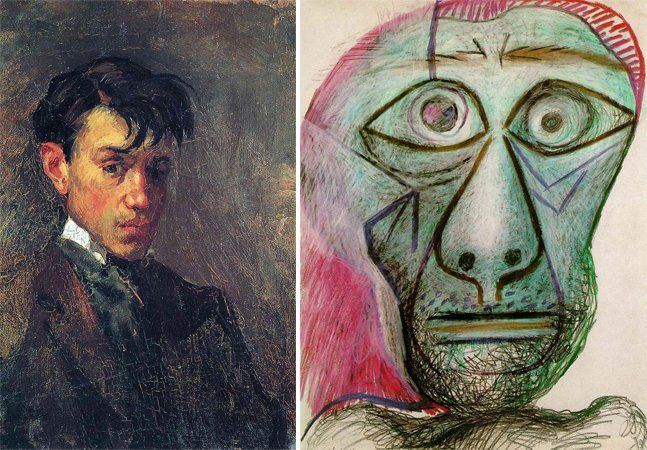 """Se você olhar para a série de autorretratos de Pablo Picasso e comparar o primeiro com o último, não diz que foi a mesma pessoa que fez. Mas, se pararmos para analisar todo o processo, conseguimos enxergar alguns pontos em comum e afirmar: sim, essas pinturas foram feitas pelo mesmo homem. Sendo assim podemos considerar a própria citação do autor: """"Os diferentes estilos que venho usando na minha arte não devem ser vistos como evolução, ou como um passo para trás no sentido de um ideal de…"""