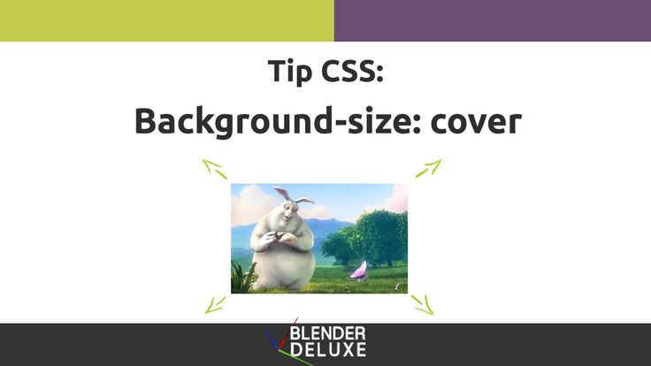 Background-size Tip CSS
