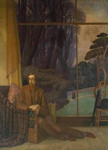 Lytton Strachey by Henry Lamb, 1914