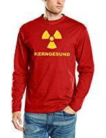 Touchlines B4091 Mens Long Sleeved T-Shirt with German Text