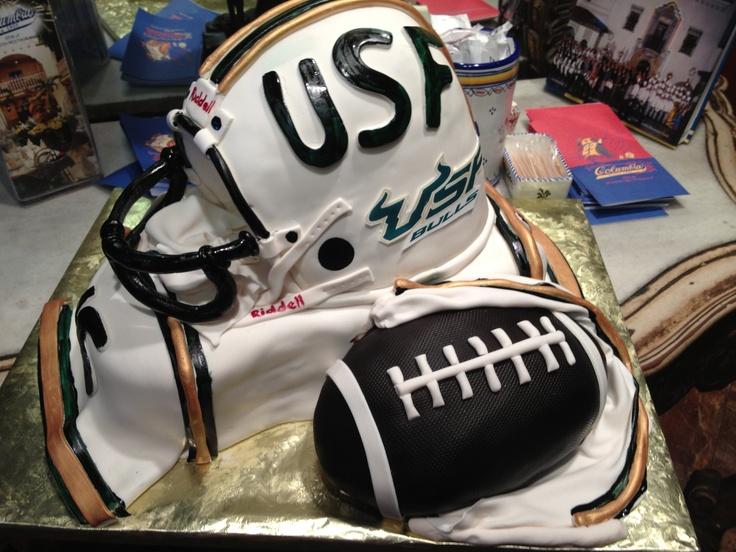 Usf bulls grooms cake