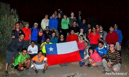 Trekking Manquehue Nocturno Veranos 2013