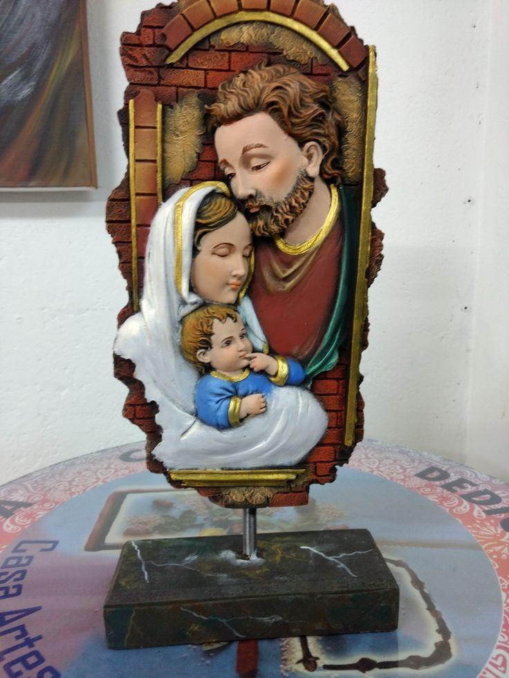 Sagrada familia en marmolina