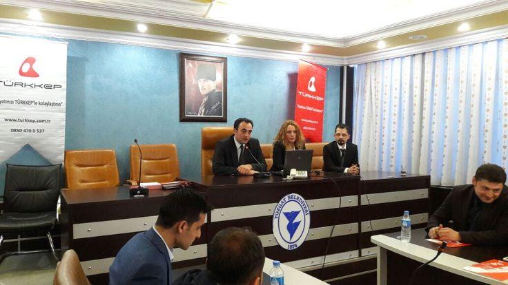 """""""Resmi Yazışma Usul ve Esaslarına Göre E-Yazışma ve Kayıtlı Elektronik Posta"""" konulu seminerlerimiz Yozgat il ve ilçe belediyeleri katılımları ile devam ediyor.  #EYazışma #KEP"""